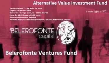 Belerofonte Capital lanza su nuevo proyecto, Belerofonte Ventures Fund