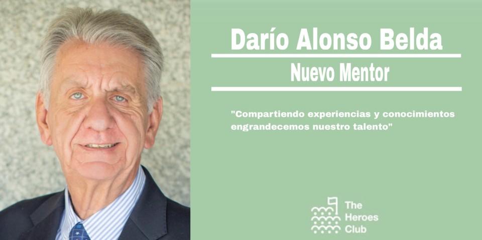 Darío Alonso Belda:  nuevo mentor de The Heroes Club