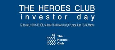 """ll Edición """"The Heroes Club Investor Day 2018"""""""