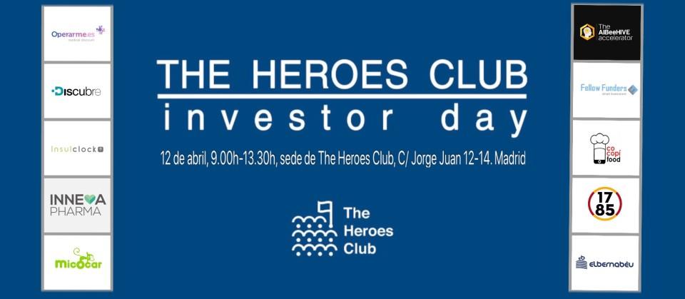 """ll Edición """"The Heroes Club Investor Day 2018"""": Proyectos"""