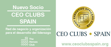 CEO CLUBS SPAIN, nuevo socio de The Heroes Club