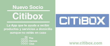 Citibox nuevo socio de The Heroes Club