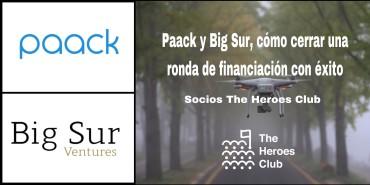 Big Sur invierte en la última ronda de serie A, y Paack la cierra en 5 millones de euros