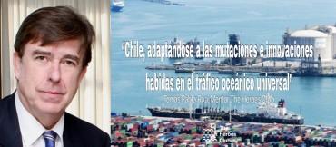 La industria marítima de Chile se consolida como referente global.