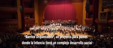"""Una cátedra del Hispanic-American College de Nueva York exportará """"Barrios Orquestados"""" a otros países."""