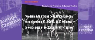 Nuevo mecanismo financiero de Europa Creativa