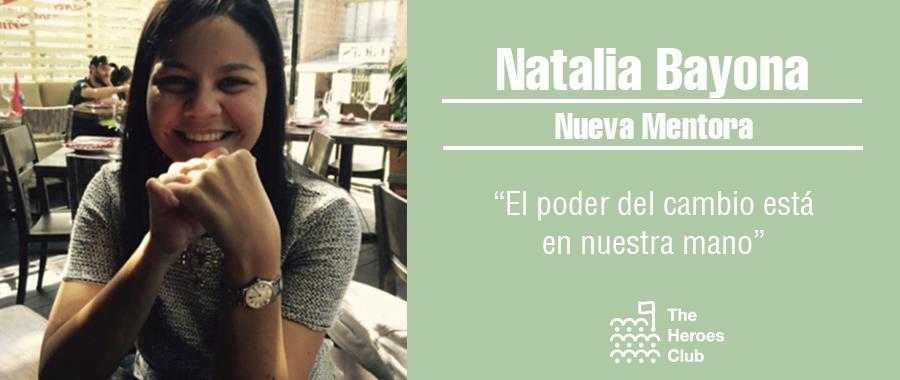 Natalia Bayona, nueva mentora de The Heroes Club