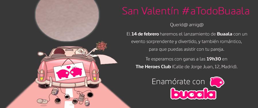 San Valentín #aTodoBuaala