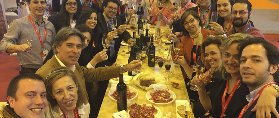Éxito de la primera presencia del Enoturismo español en FITUR