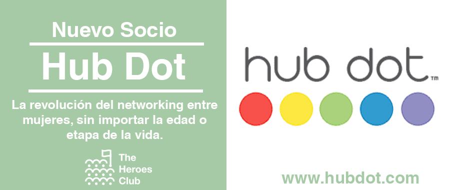 Hub Dot nuevas socias de The Heroes Club