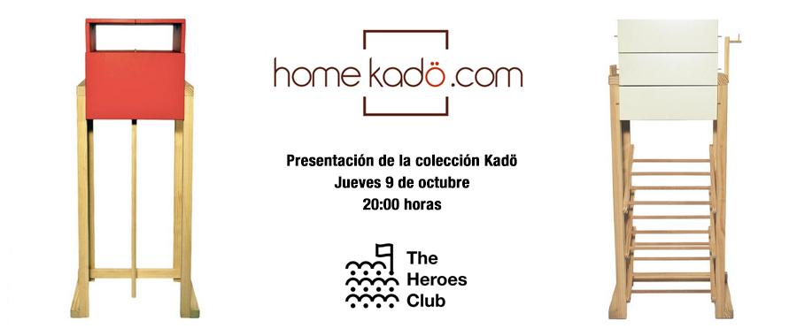 Ven a conocer la colección Kadö de Home Kadö el próximo 9 de octubre