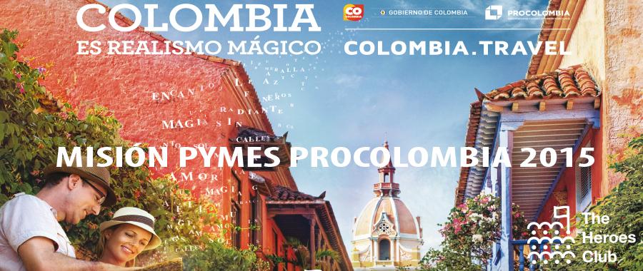 Misión Pymes Procolombia en The Heroes Club, 26 y 29 de enero