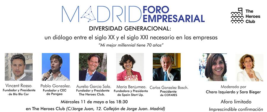 Madrid Foro Empresarial: Un diálogo entre el S.XX y el S.XXI necesario para las empresas