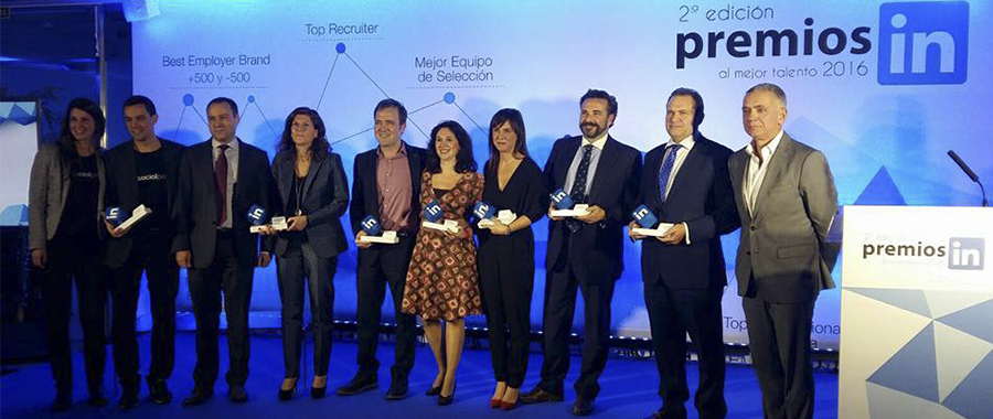Nacho Villoch, Top Social Executive premios Linkedin