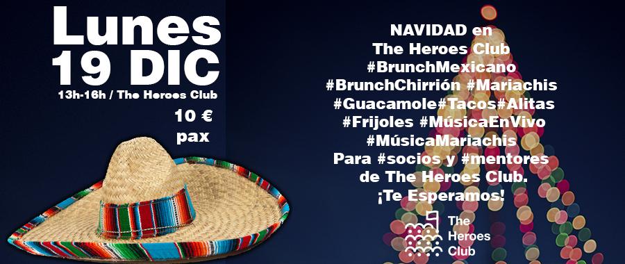 Navidad Mexicana en The Heroes Club