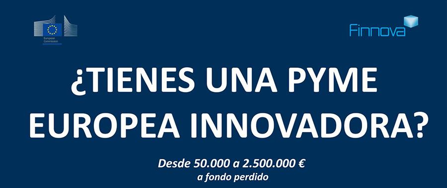 Financiación pymes y startups innovadoras Horizonte 2020