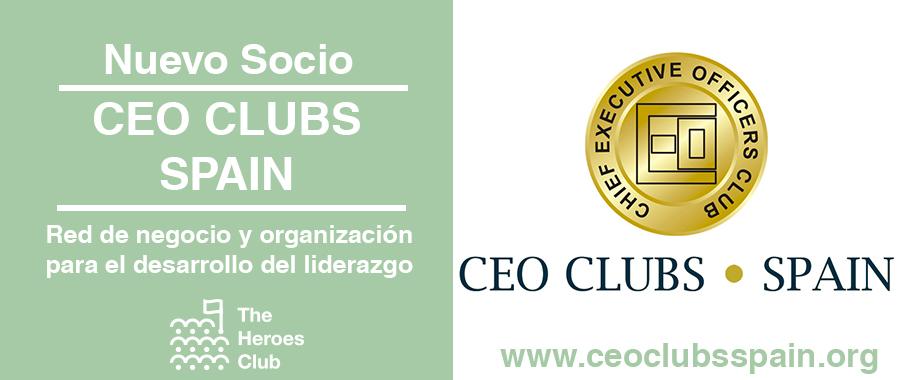 CEO CLUBS SPAIN socios de The Heroes Club