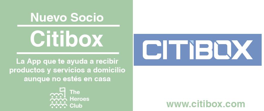 Citibox nuevo socio The Heroes Club