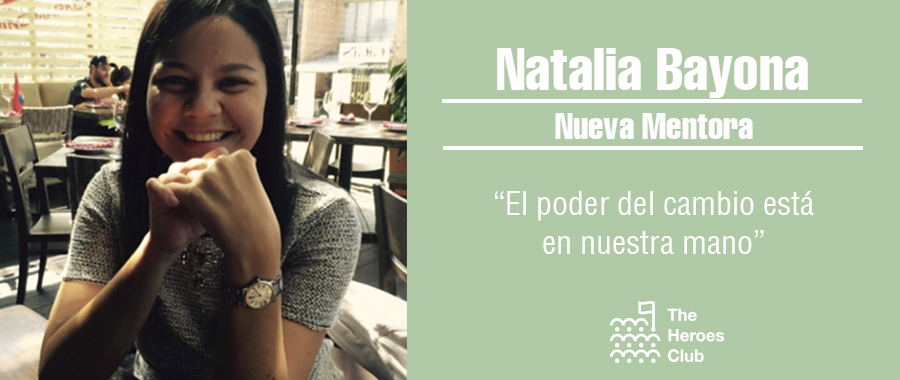 Natalia Bayona nueva mentora de The Heroes Club